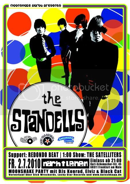 THE STANDELLS FLYER BIG